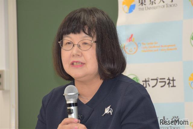 東京大学大学院教育学研究科長 秋田喜代美氏