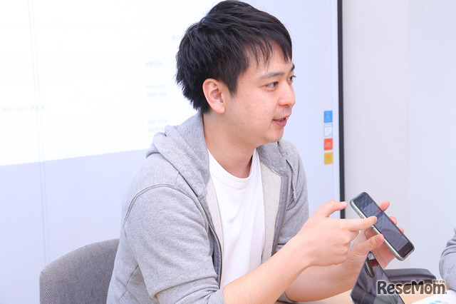 「Classi欠席連絡」のプロダクトマネージャーの宮尾晃一さん