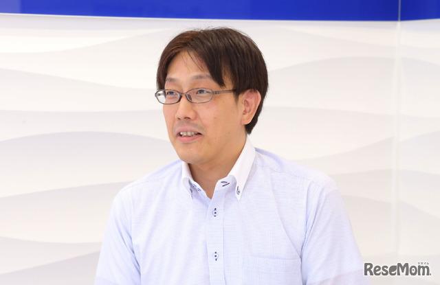 湘南ゼミナールの教務支援部進路情報戦略室長 秋山清輝氏