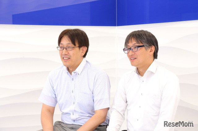 湘南ゼミナールの秋山氏・渡邉氏