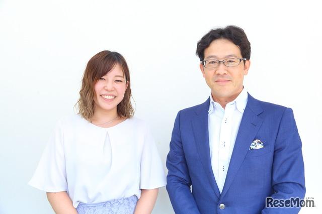 ルネサンス高等学校の生徒たちの「夢」を温かく支える春山先生と田島氏