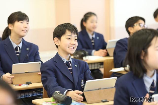 武蔵野大学中学校・高等学校のようす