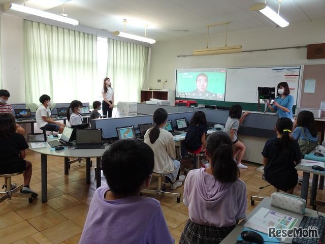 LINEみらい財団は2020年9月17日、東京都八王子市松が谷小学校にてプログラミング出前授業を行った