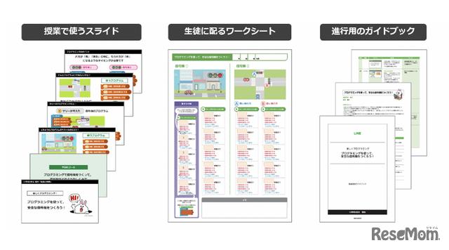 LINE entry公式教材のイメージ