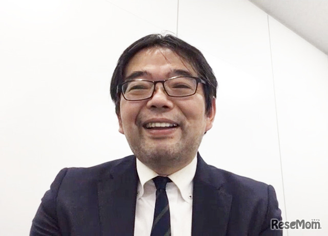 SAPIX(サピックス)小学部 教育情報センター本部長の広野雅明氏