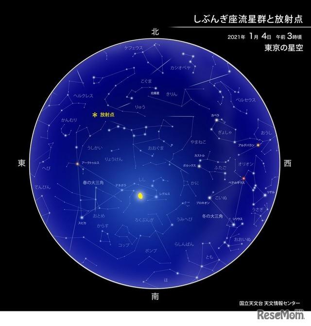 新年最初の天体ショー「しぶんぎ座流星群」1/3深夜から見頃 2枚目の ...