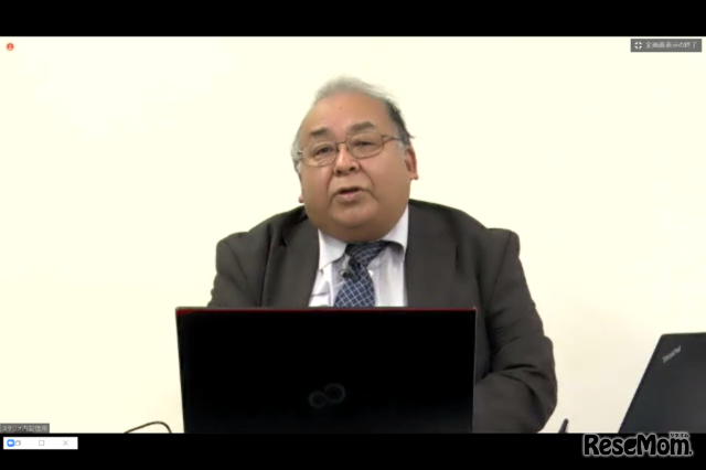 Educational Solution Seminar 2020で講演する西田氏