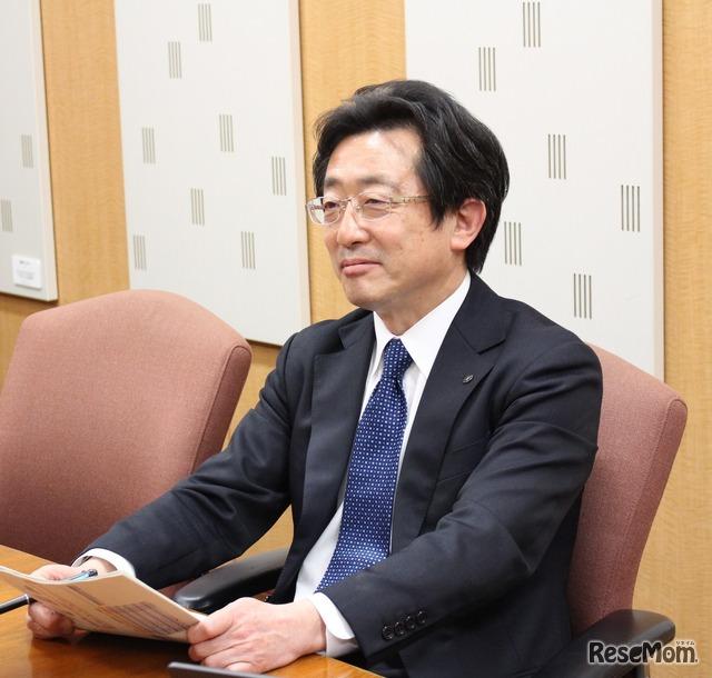ヤマハミュージックジャパン英語教室事業推進部部長の串田厚司氏