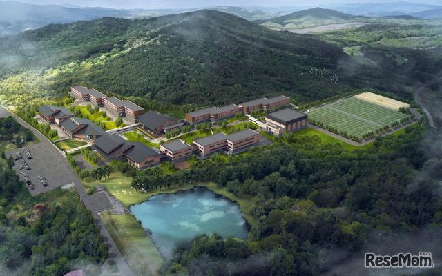 2022年秋、岩手県安比高原に開校するハロウインターナショナルスクール安比ジャパン