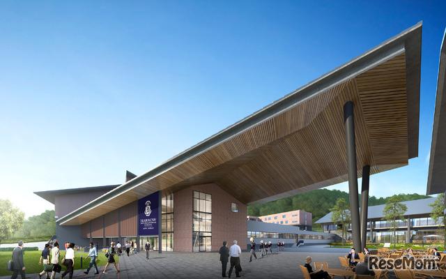 2022年秋、岩手県安比高原に開校するハロウインターナショナルスクール安比ジャパン(校舎イメージ)
