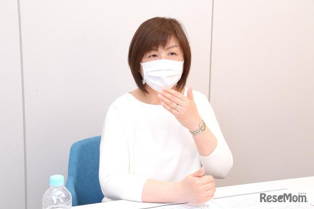 インタビューに応じてくれたベネッセビースタジオ 第三教室事業部・部長の中山真理子氏