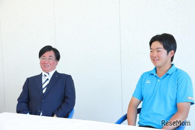 「主将は精神的な柱」ルネサンス高校ゴルフ部顧問 高木剛先生が、三浦隆治選手を主将に決めた