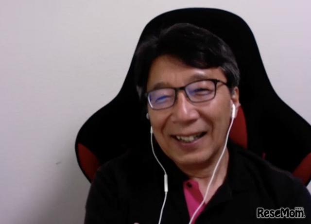 インフィニティ国際学院の学院長・大谷真樹氏