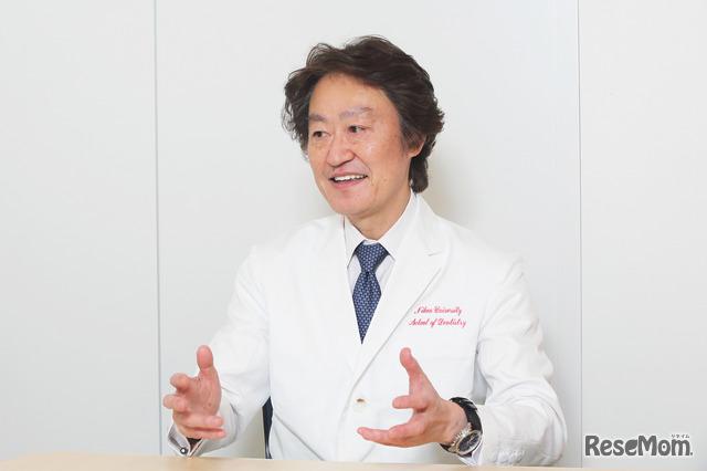 日本大学歯学部保存学教室修復学講座 宮崎真至教授