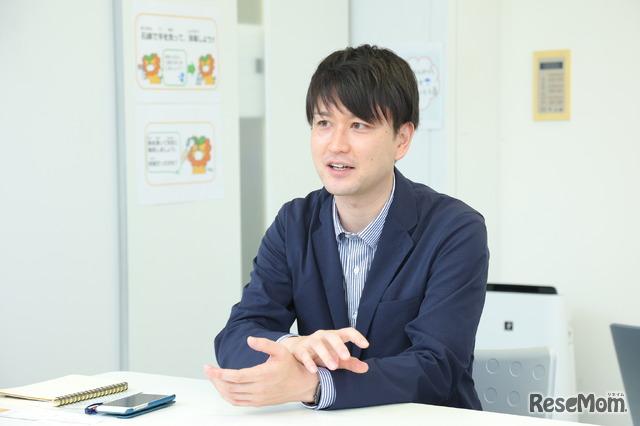 提携のきっかけを話すルネサンス高校の勝又氏