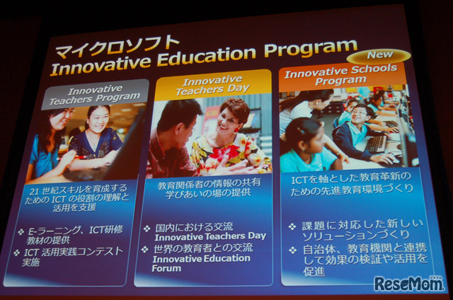 Innovative Education Program