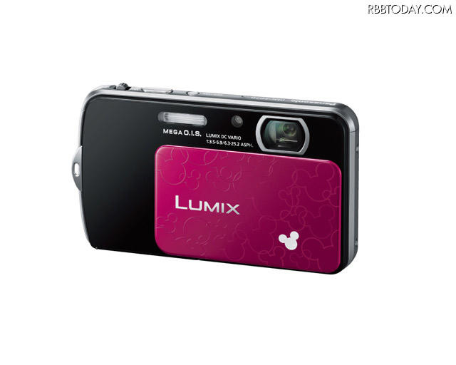 ディズニーモデル「LUMIX DMC-FP7D」 (c) Disney ディズニーモデル「LUMIX DMC-FP7D」 (c) Disney