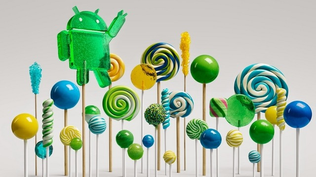 Android 5.0 (Lollipop)を搭載する